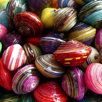 Ugandan beads