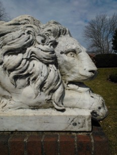 Lynch Park Stone Lion